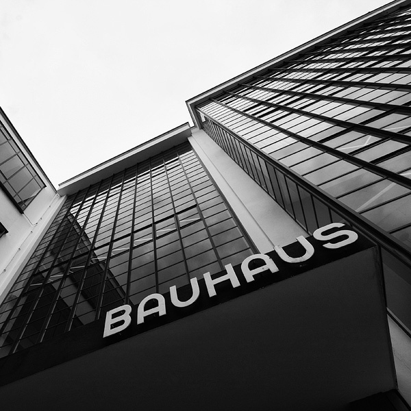 cool angle: it seems like you only ever see the one really famous shot of the bauhaus