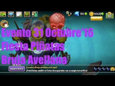 Plants vs Zombies 2 - Evento/Plantas Edición Especial - 31 Octubre'16 - ...