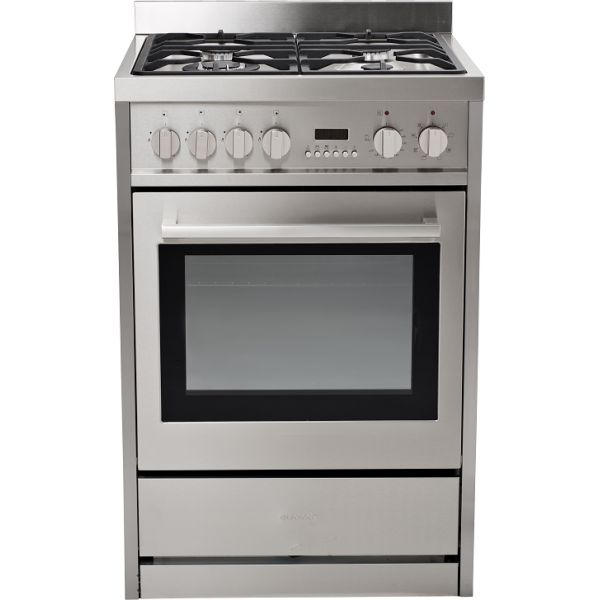 60cm Stylish Freestanding Gas Hob Catalytic Electric Oven by Eurotech (EUR-FSGE60) $1245 YEAR WARRANTY