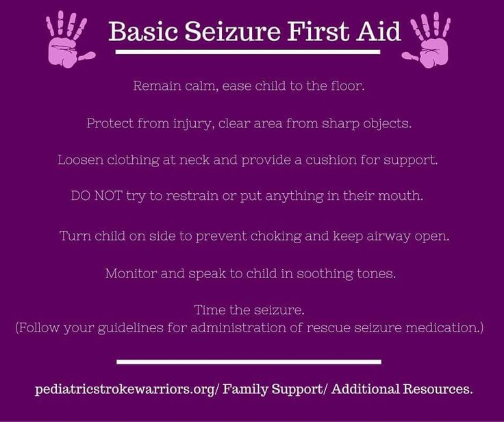 Basic seizure first aid. Download a helpful patent toolkit ...