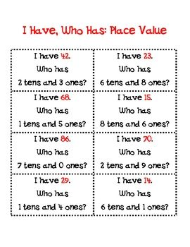 Place Value game: Math Plac, Grade Math, Schools Math, Work Stations, Places Values Games, Math Ideas, Decimal Places Values, First Grade, 1St Grade