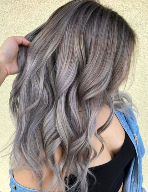 hair styles for grey hair 15 trending hair colors for fall 2018 pin now read later 5058 | 84ddbc021057f5058f85f1574de8e3ff