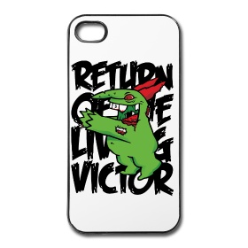 White iPhone4/4S Case - Victor Zombie