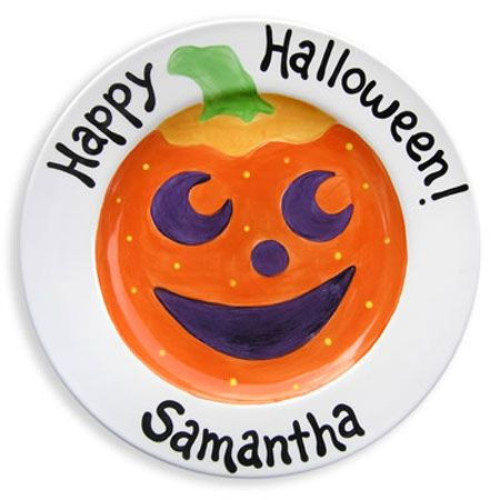 halloween kids ceramic plate - Halloween Plates Ceramic