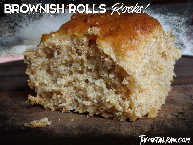 Brownish Rolls Rocks - Whole Wheat Bread Rolls, amazingly soft and tasty!