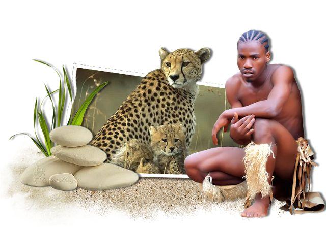 PSP Design: Afrikalı adam