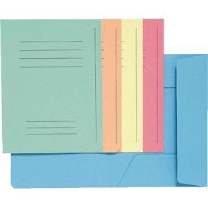 50 subcarpetas de 250 grs. con tres solapas. Viene preimpresa para facilitar la escritura. Color Beige.