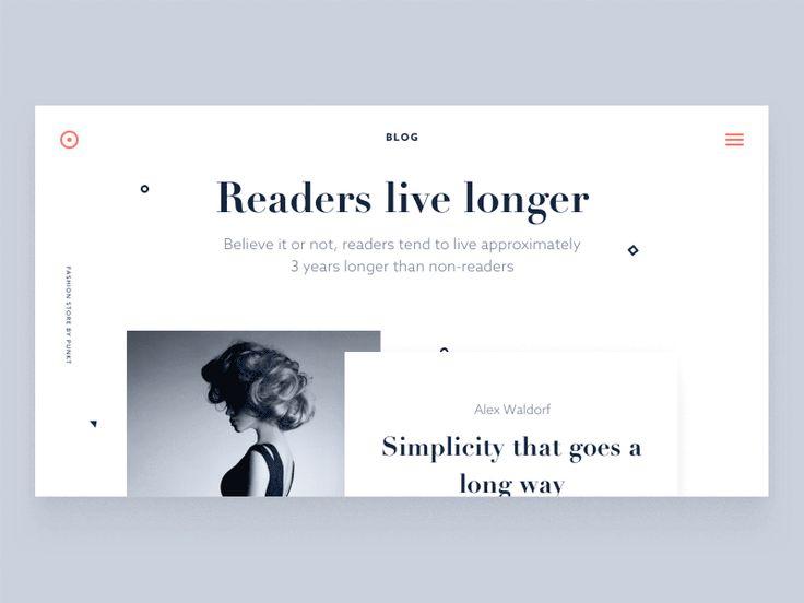 Un grand classique de l'UI animation : la transition entre une vue liste et le détail d'un article de blog. La transition et le loading de l'image adopte un mouvement naturel.