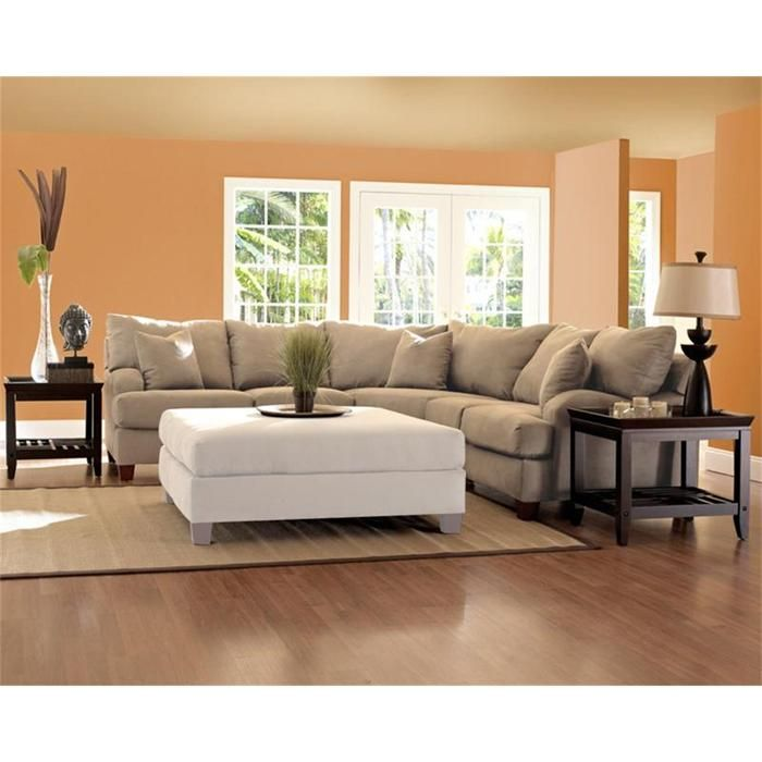 Canyon 2-Piece Sectional in Khaki | Nebraska Furniture Mart  sc 1 st  Pinterest : nfm sectionals - Sectionals, Sofas & Couches