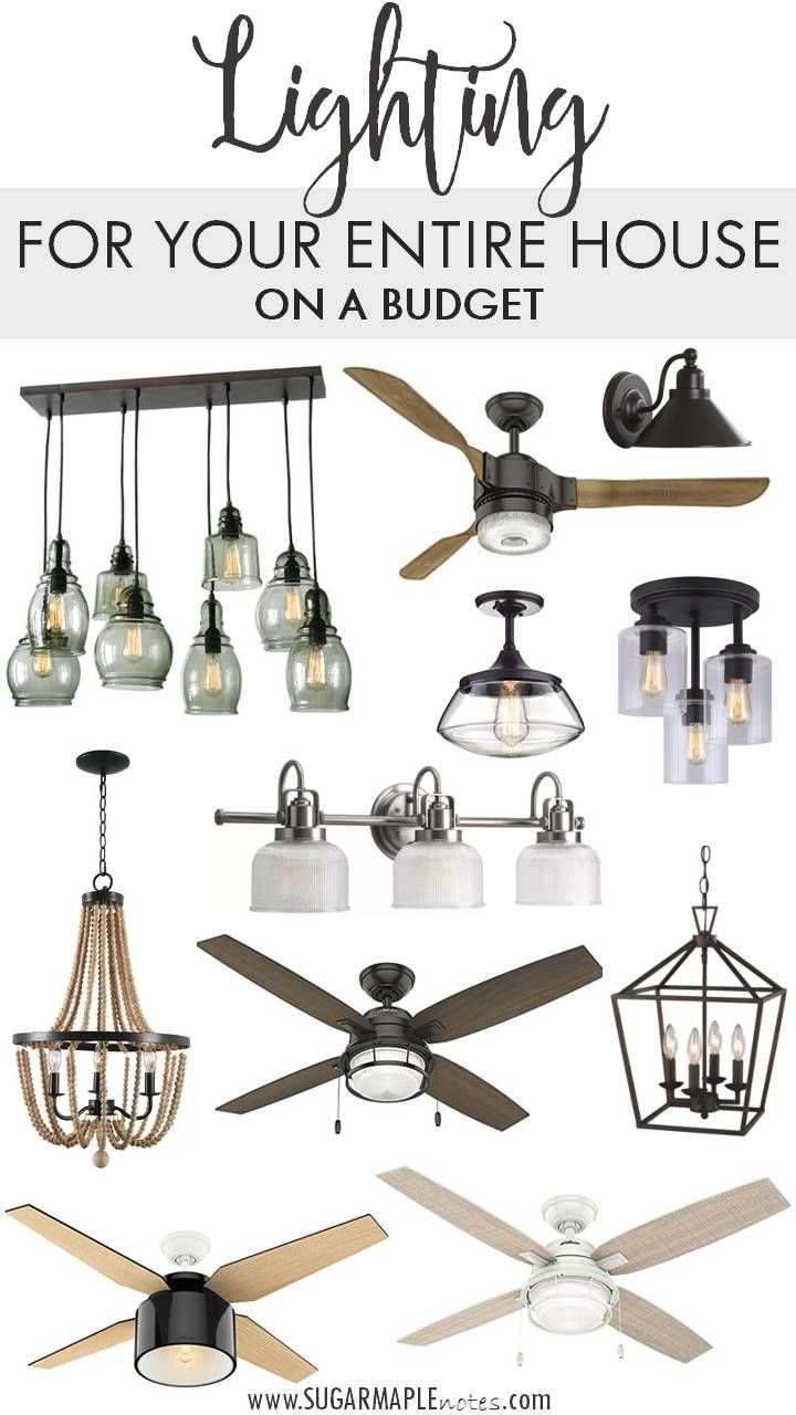 Lighting For Your Entire House On A Budget