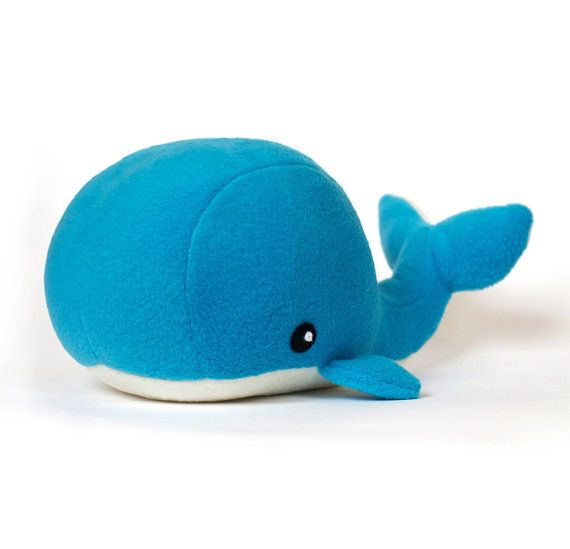 PDF sewing pattern Whale plush toy softie by DIYFluffies on Etsy, $9.00