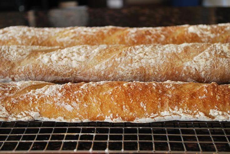 sourdough baguettes - a bread a day