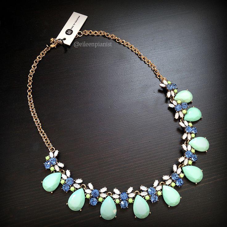 Stitch Fix Bay to Baubles Valeria Teardrop Gemstone Necklace in mint $34 https://www.stitchfix.com/referral/5363181