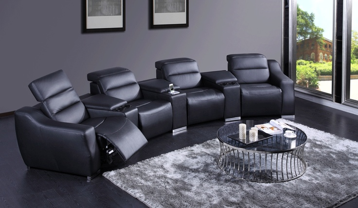 Montage - Reclining Single Seater Sectional Set - Modern Sofas - Living Room