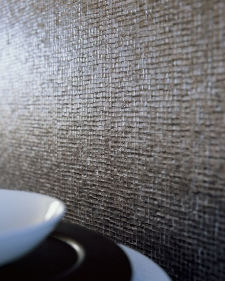 Elitis glass vinyl wall paper