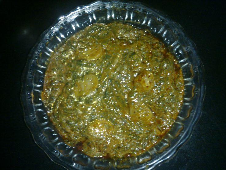 Kashmiri Food Recipes: Paalak-Nadir