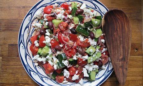 Felicity Cloake's perfect greek salad