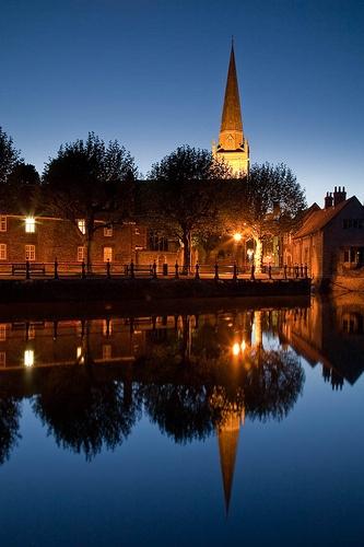 Abingdon-on-Thames, Oxfordshire, England.