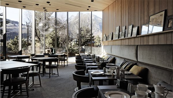 The new Eden Hotel is the first mountain hotel designed by Antonio Citterio and Patricia Viel.
