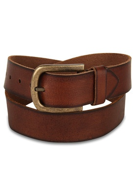 Light Brown Hand Padded Leather Belt Price: Rs.1095