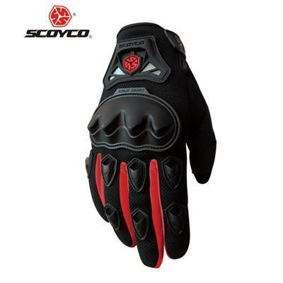 SCOYCO Motorcycle Gloves Summer Breathable Wearable Protective Guantes Moto Luvas Alpine Motocross Stars Gants Moto Verano guant