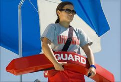 Dreaming of warm summer days?  Did you know the American Red Cross offers professional lifeguard training?  Register for classes and get certified before the season starts!