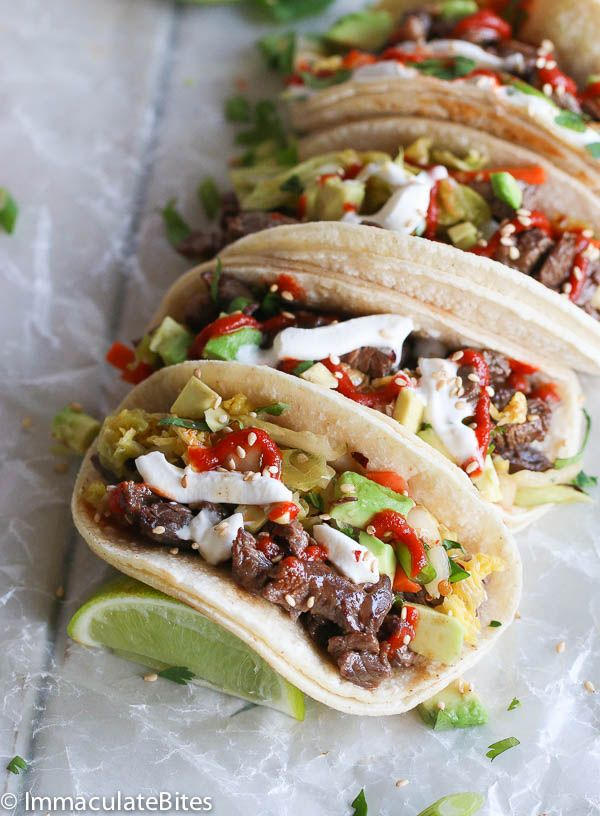 Easy Korean Beef Tacos with Quick Kimchi – Enjoy this Super tasty tacos in the comfort of your home with just a few steps.