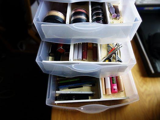 foam dividers in sterilite drawers | Makeup Organization ...