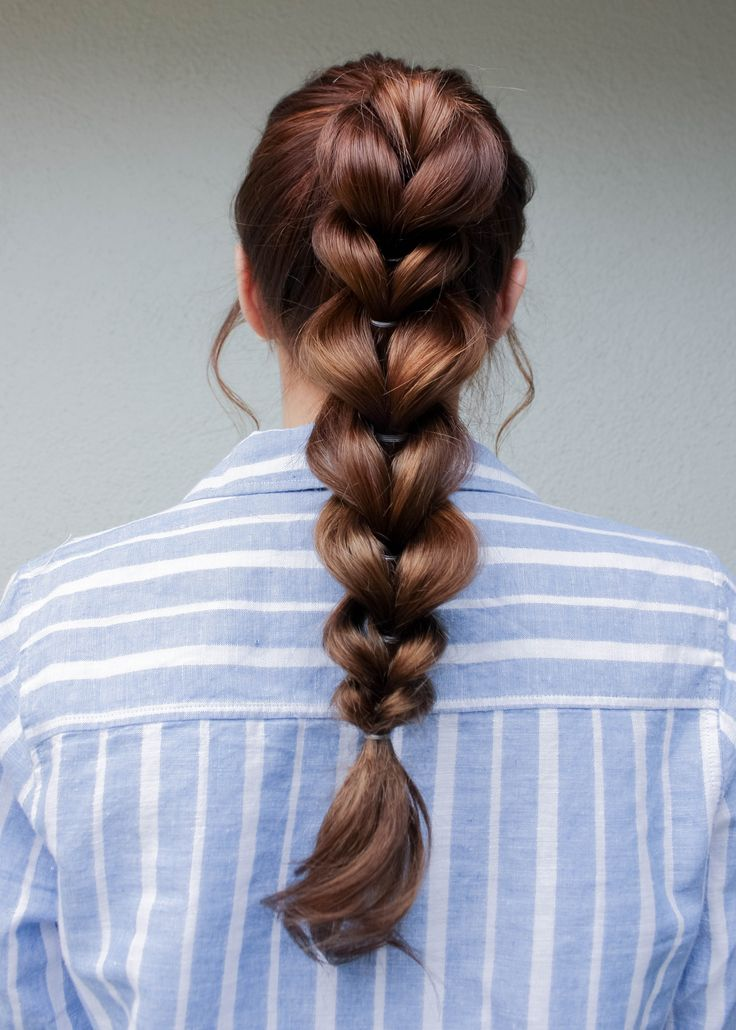 Today I wanted to show you this really simple way to dress up your pony tails! All you'll need…