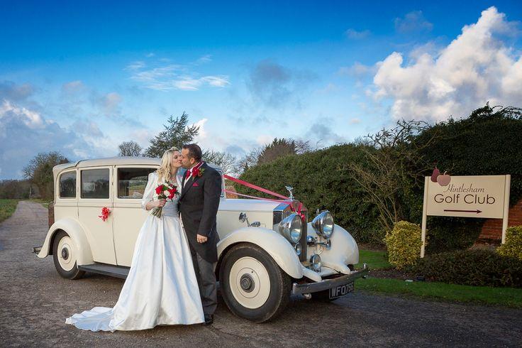 Hintlesham Golf Club Golf Clubs Wedding Car Golf