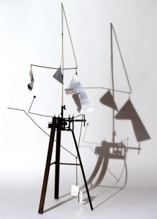 Bruno Munari -Useless Machine (Arrhythmic Carousel) 1953