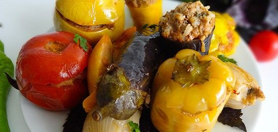 Толма эчмиадзинская летняя (Summer Dolma – տոլմա) - Армянская кухня