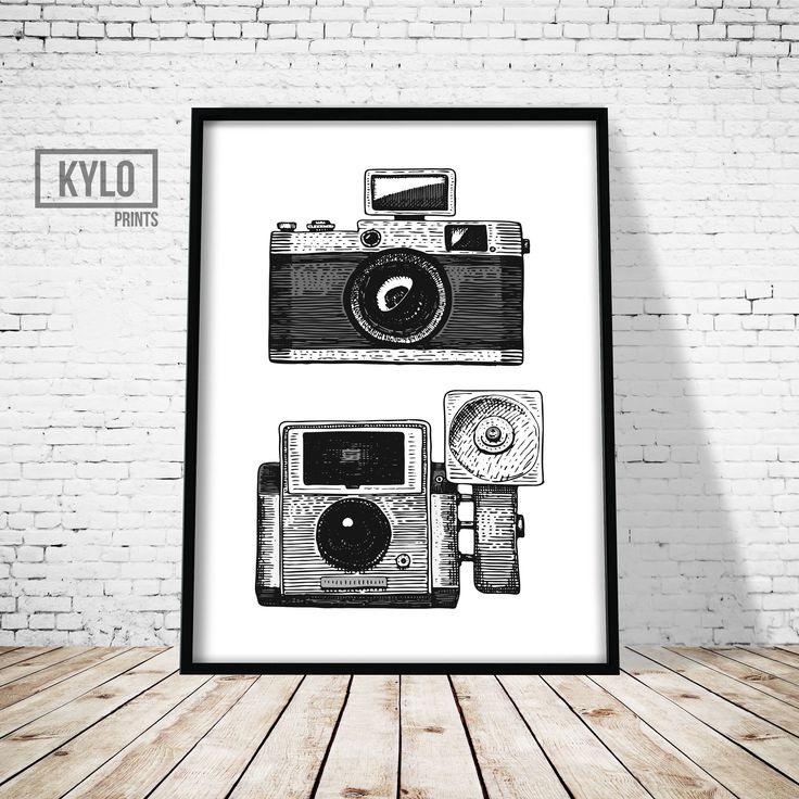 Camera Print, Vintage Camera, Wall Art, Printable Art, Instant Download, Digital Print, Home Decor, Office Decor, Film Camera Print, Gift by KYLOprints on Etsy https://www.etsy.com/listing/527931850/camera-print-vintage-camera-wall-art