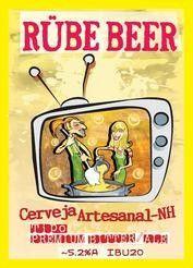 Cerveja Rübe Beer English Pale Ale, estilo Extra Special Bitter/English Pale Ale, produzida por Rübe Beer, Brasil. 5% ABV de álcool.