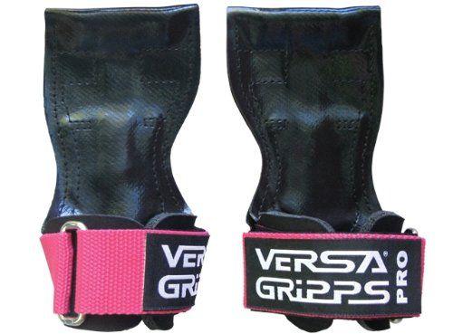 Versa Gripps PRO Glove Weight Lifting Straps Hooks (PRO-P...