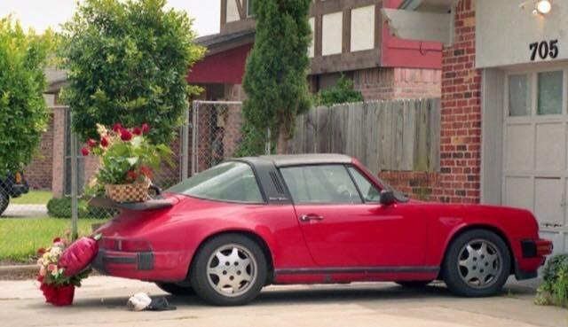 Selena's Porsche after her death..so sad.