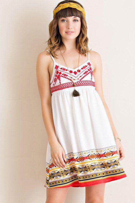 Little Havana White Babydoll Dress Shop Simply Me Boutique SMB – Simply Me Boutique