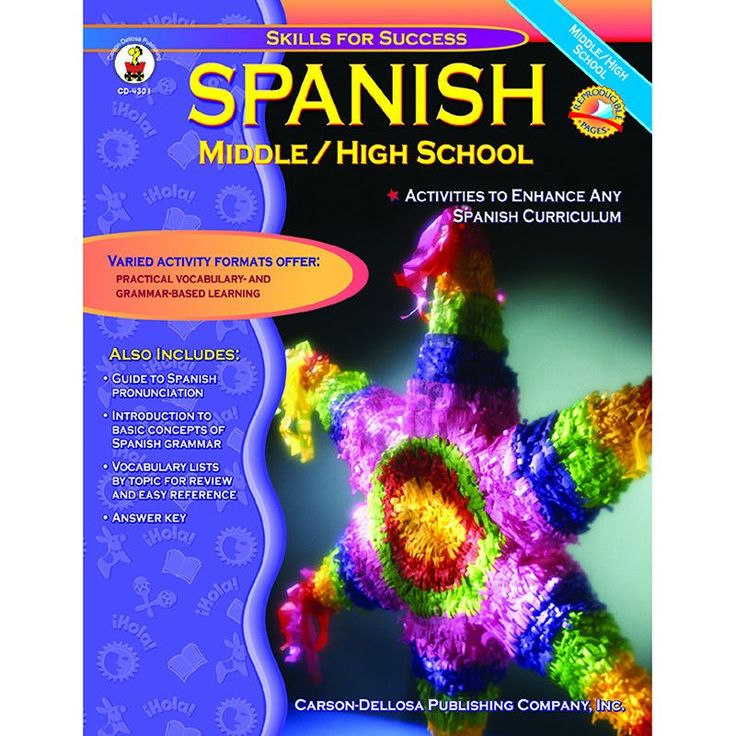 The activities in this book can be used on their own or in addition to any Spanish program, and the exercises focus on everyday Spanish vocabulary. Vocabulary lists, reproducible storybooks, a pronunc