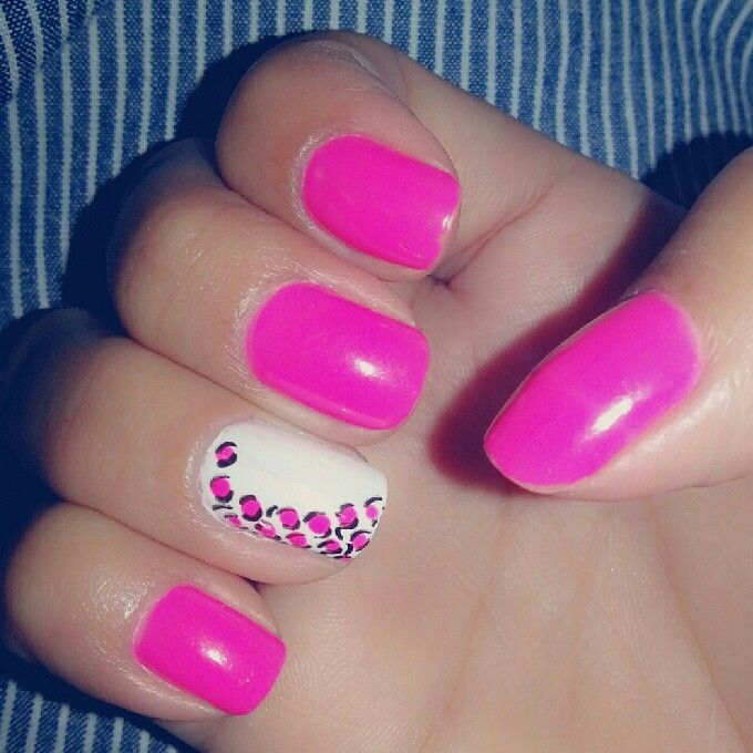 Fucsia with a touch of animal print