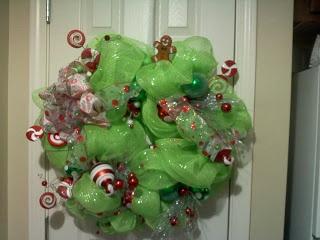 My new Christmas wreath