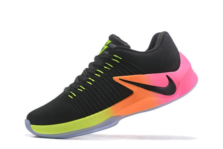 Free Shipping Only 69$ Nike Zoom Clear Out Low Draymond Green Shoes 2017 Unlimited Pink Blast Volt Black
