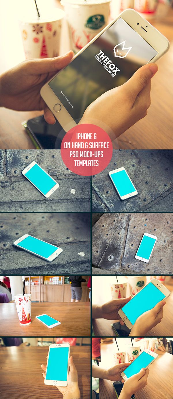Free iPhone 6 PSD Mock-Ups Template #freepsdfiles #freepsdmockups #freemockuptemplates