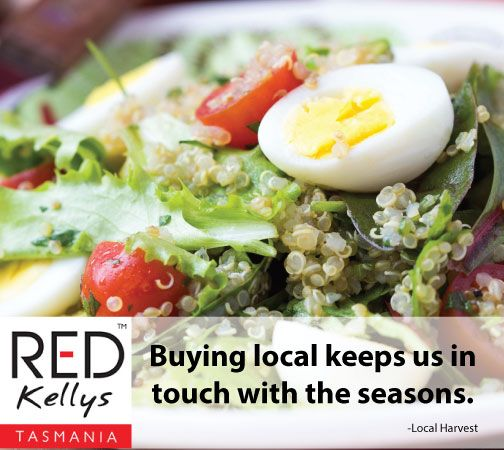 Does buying local help to keep you in touch with the seasons?