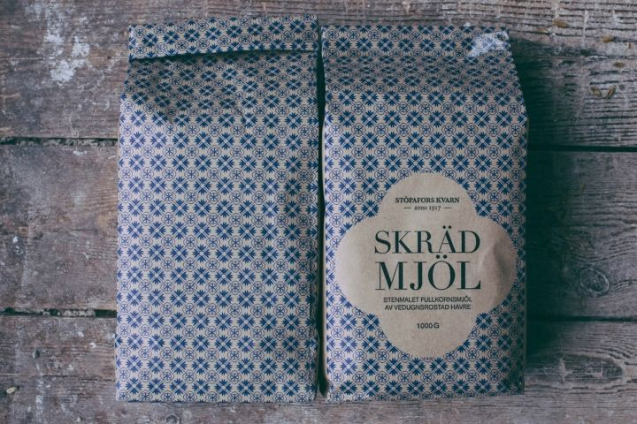 Stöpafors Kvarn Flour Packaging Concept by Marie Andersson, Malin Bragby & Sebastian Edman » Retail Design Blog