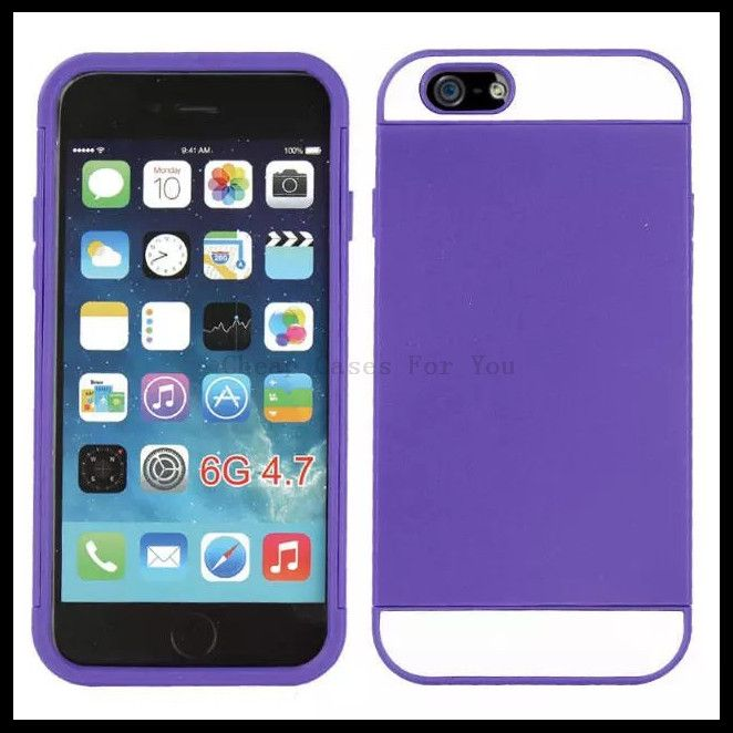 2 in 1 Hybrid Layer Hard Plastic Case for iPhone6(4.7) Is One Of The Best Products Of The Brand.