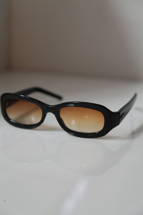 Level One Vintage 90s  Black Sunglasses by LovelyVintageGlasses, $12.00