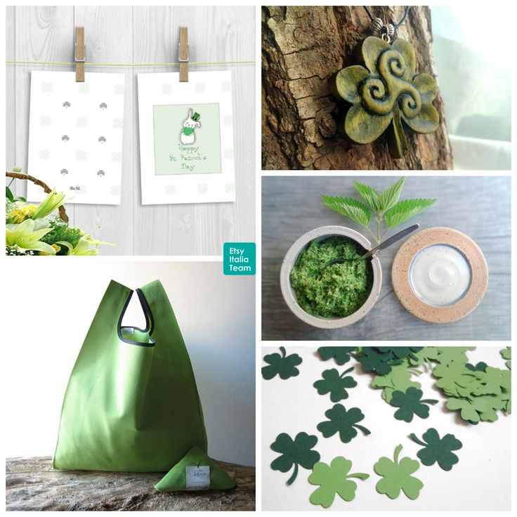 #EITrends • Handmade creations inspired by St. Patrick's Day - Creazioni fatte a mano ispirate alla festa di San patrizio. BuNiArtandDesign: http://etsy.me/2mEwJMq Woodzard: http://etsy.me/2lVqRRS toscAnna: http://etsy.me/2kBF7dJ LaSoffittaDiSte: http://etsy.me/2mmiASN AtelierSettembre: http://etsy.me/2nyWyMV