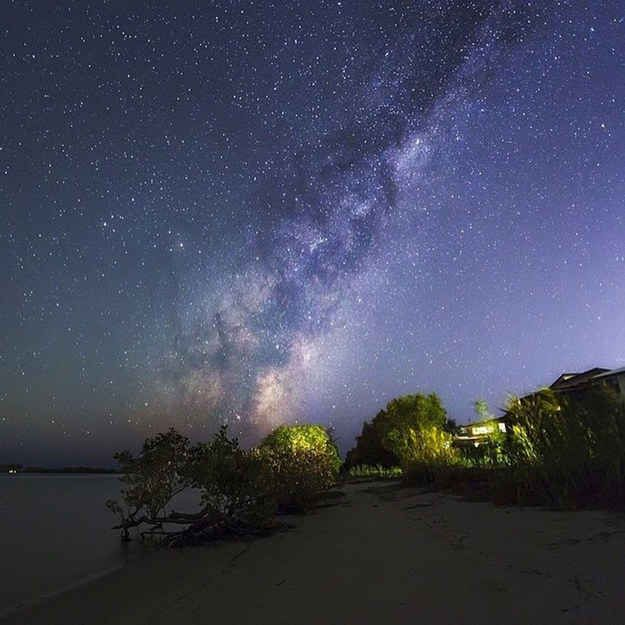 Lie on your back and watch the stars at Jacobs Well.
