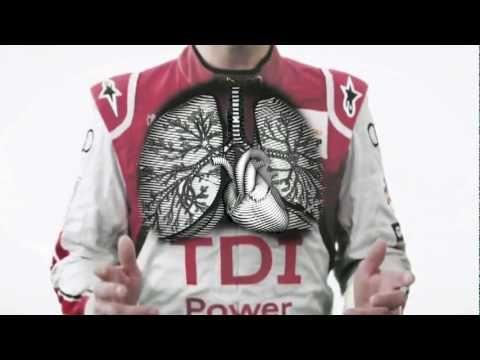 ☆ Cool New Audi Le Mans TV Ad 2011 Allan McNish Driver Commercial - Carjam Radio