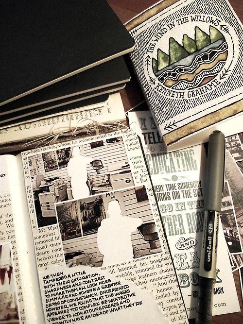 Rebecca Blair art journaling